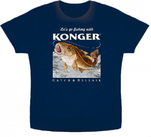 Article de peche : T-Shirt Konger Lieu
