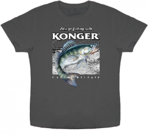 Article de peche : T-Shirt Konger Sandre