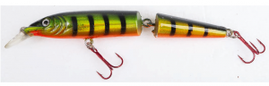 Article de peche : Warbird Minnow Jointed