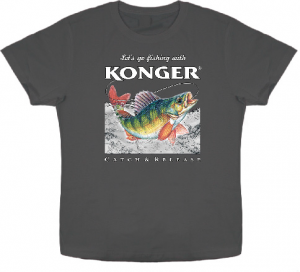 Article de peche : T-Shirt Konger Perche 2017