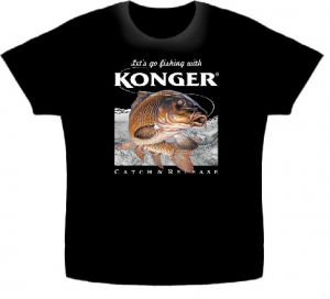 Article de peche : T-Shirt Konger Carpe 2017